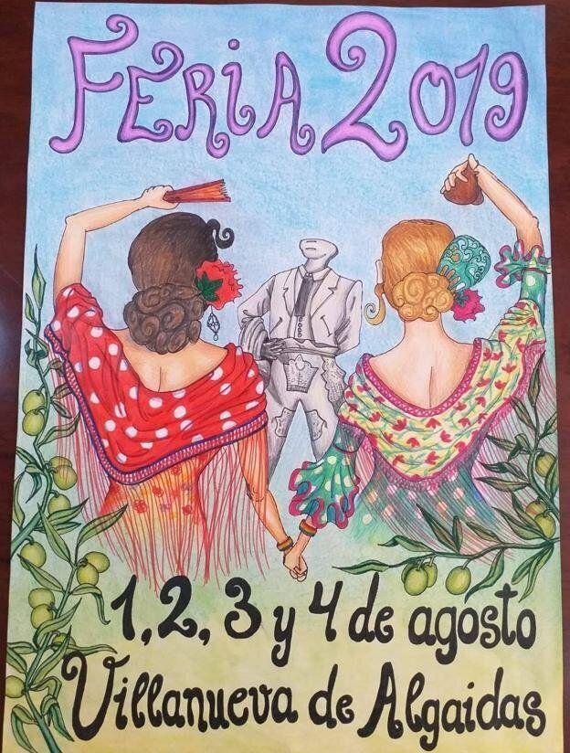 Cartel Feria Villanueva de Algaidas