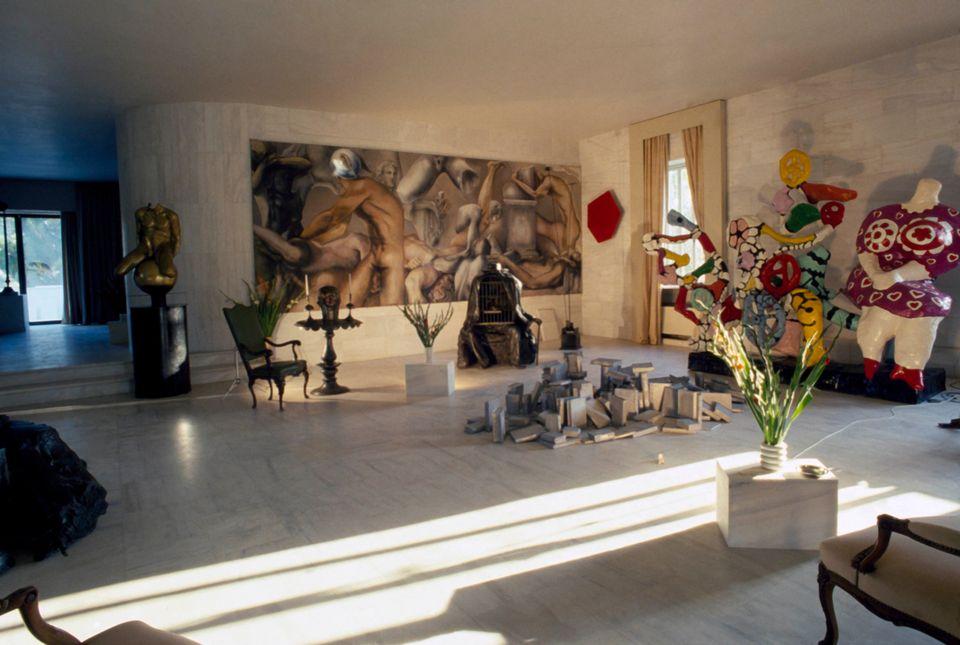 Η οικία του Αλέξανδρου Ιόλα. Vogue, 1981