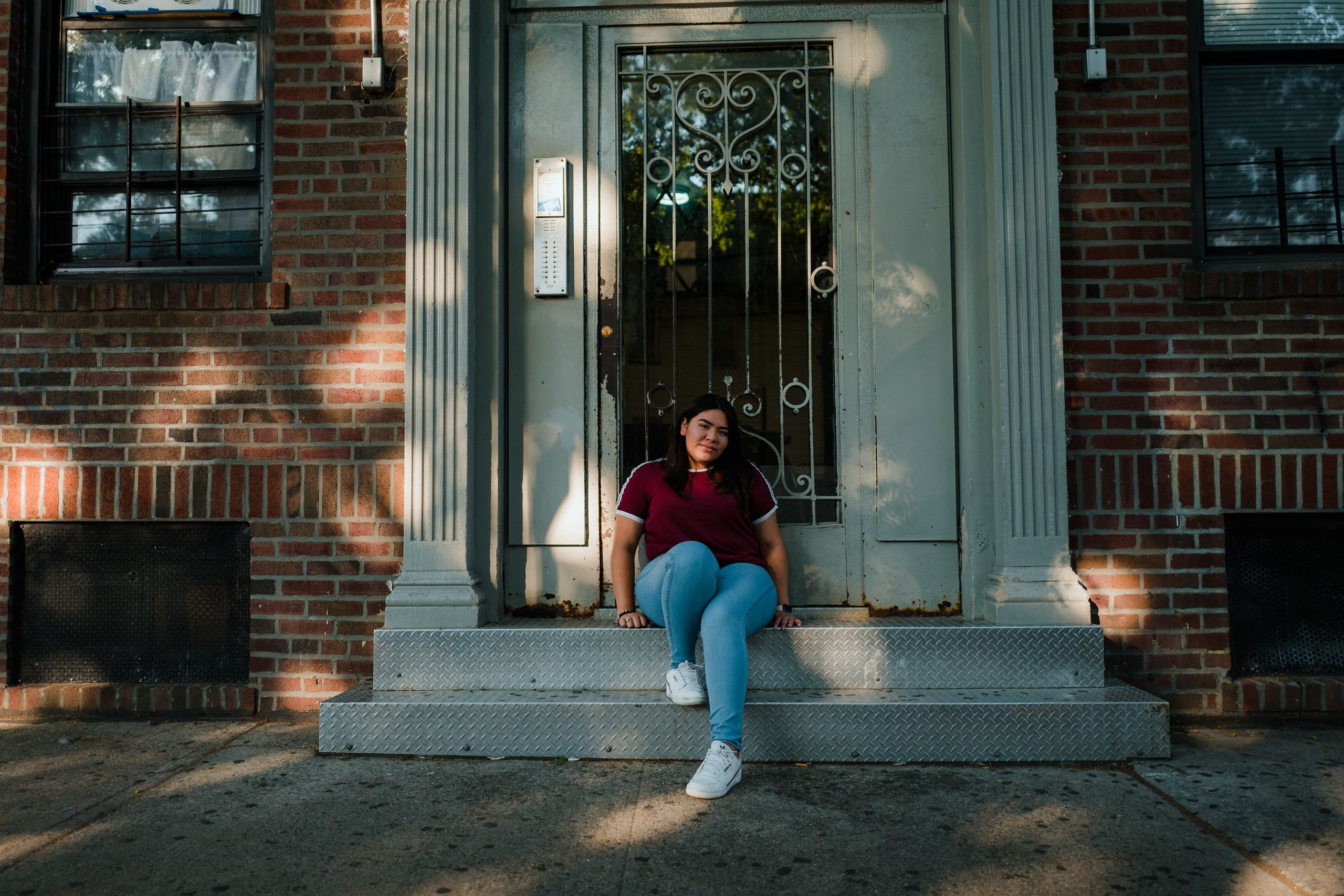 Garate near her home. New York City — and her neighborhood in particular — has been hit particularly hard during