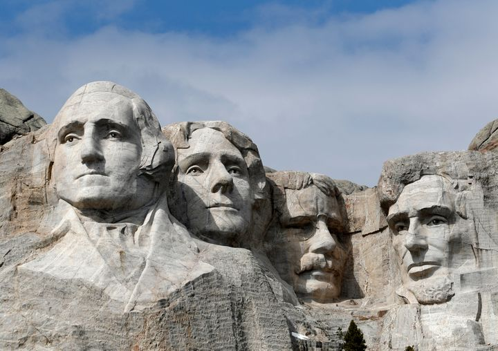 "President Trump argued that Mount Rushmore is incapable of burning because ""it's stone."" Annual firework displays haven't tak"