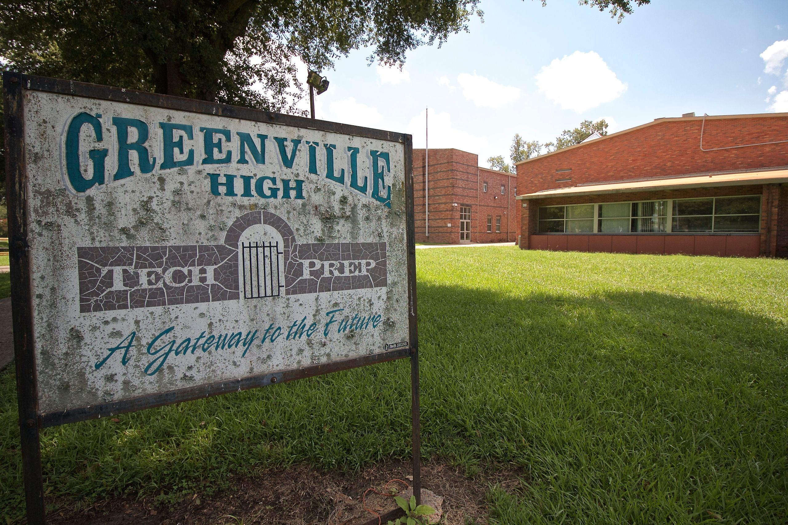 Students and faculty at Greenville High School transitioned to remote learning in mid-March. The school is unable to assign a