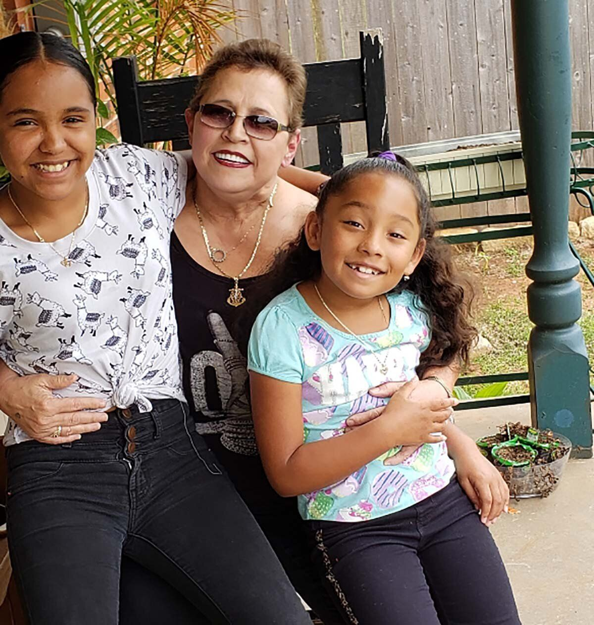 Christine Zuniga is raising her granddaughters Victoria and Alejandra while their parents are incarcerated. When the coronavi