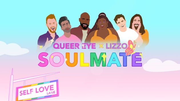 Lizzo Enlists Queer Eye Guys For Her Pride-Themed Soulmate