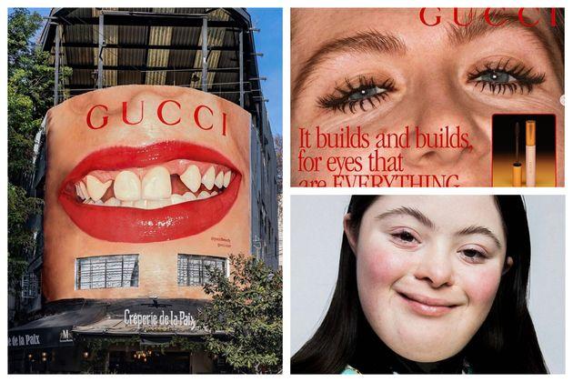 GUCCIが展開した広告