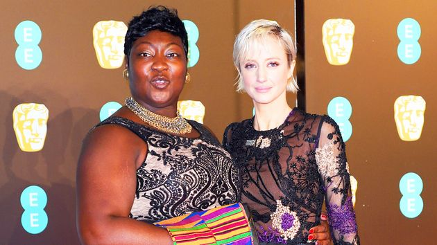 Lady Phyll and Andrea Riseborough at the 2018