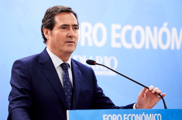 Antonio Garamendi, en un evento el 5 de marzo de 2020 (Juan Manuel Serrano Arce/Europa Press via Getty