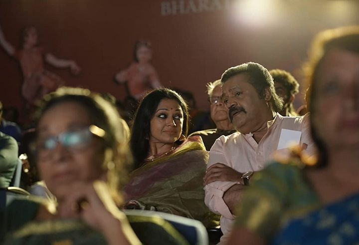 Shobana and Suresh Gopi in Varane 'Avashyamund'
