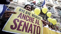 Stop taglio vitalizi. Casellati si sfila, M5S farà ricorso, Salvini raccoglie