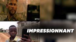 Ces enfants nigérians recréent des bandes annonces de Netflix et c'est