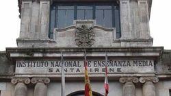 La Xunta de Galicia rechaza tapar un escudo franquista de un instituto de Vigo por su