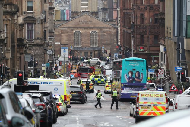 Glasgow Stabbing: Suspect Shot Dead After Six Attacked Including Police Officer