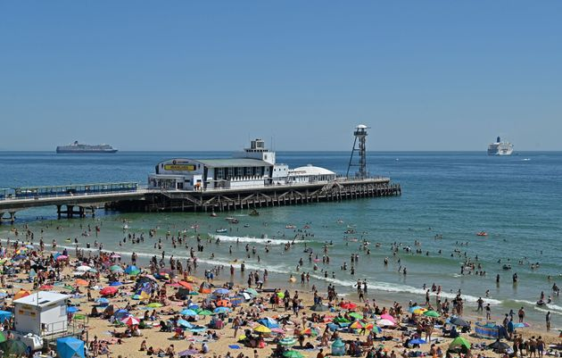 Keen beachgoers prompted the Bournemouth ultimatum this