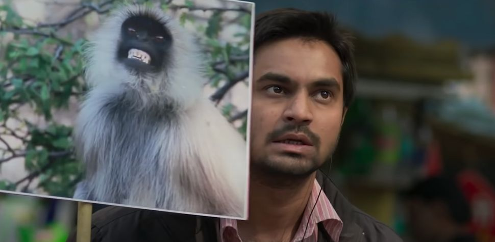 "Shardul Bhardwaj in a still from Prateek Vats' 'Eeb Aallay Ooo"""