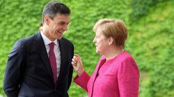 Merkel apoya a Calviño para presidir el Eurogrupo: