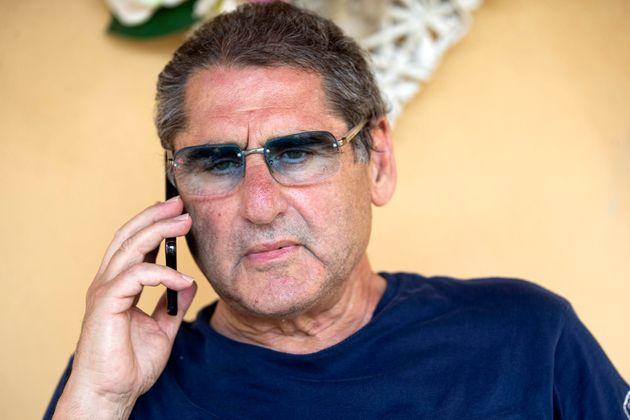 Salvatore Buzzi, tornato libero per decorrenza termini di custodia cautelare, all'interno della sua abitazione,...