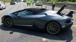 Brand-New Lamborghini Totaled After Just 20 Minutes On The