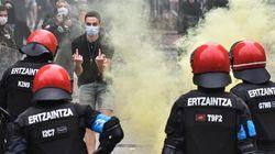 La Ertzaintza prohíbe una manifestación contra el mitin de Vox en