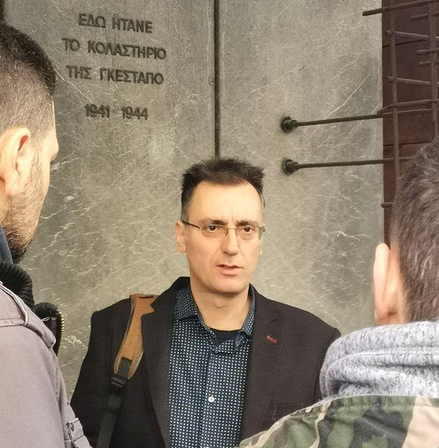 Ο κ. Μενέλαος Χαραλαμπίδης...