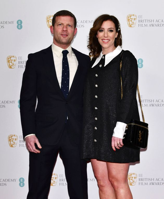 Dermot O'Leary and his wife Dee Koppang