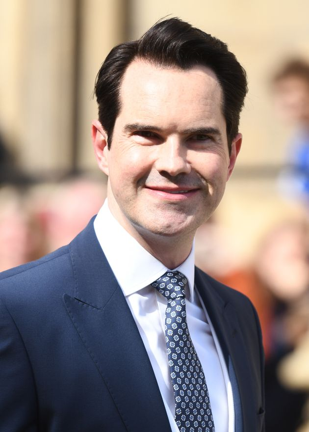 Jimmy Carr pictured last