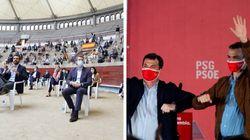 Sánchez lamenta la falta de apoyo del PP durante la pandemia y Casado le acusa de
