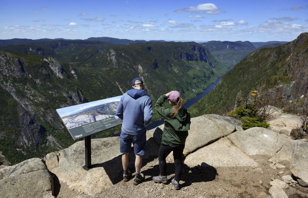 Parc national des Hautes-Gorges-de-la-Rivière-Malbaie, dans Charlevoix (photo