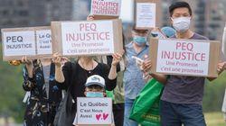 Une centaine de manifestants dénoncent le Programme d'expérience