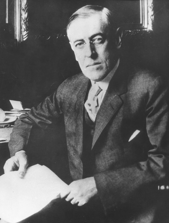 Woodrow Wilson, the 28th president of the United States.