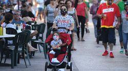 La Floride enregistre un nouveau record de contaminations en 24