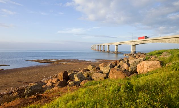 The Confederation Bridge linking New Brunswick and Prince Edward Island. The island has seen a spike...