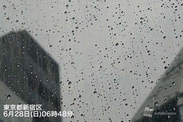 東京都新宿区 6月28日(日)6時48分
