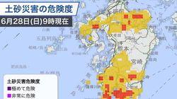 【今日の天気】九州南部で総降水量は約400㎜。大雨はピーク越えたが、土砂災害に警戒