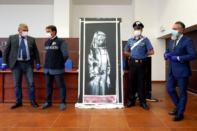 Γαλλία: Συνελήφθησαν έξι άτομα για την κλοπή της τοιχογραφίας του Banksy στο
