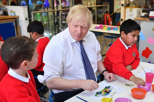 Boris Johnson Announces Ten-Year Schools Rebuilding Plan With £1bn Investment