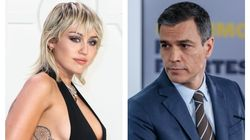 Pedro Sánchez sorprende a muchos con este mensaje a Miley