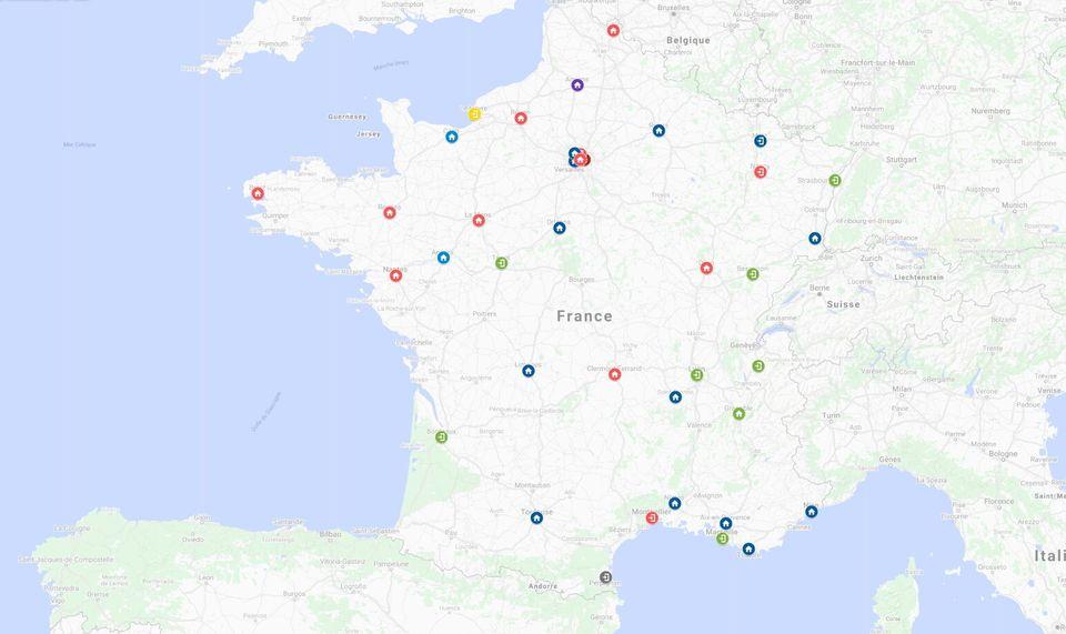 tous les résultats dans les villes de plus de 100.000