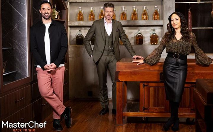 'MasterChef Australia: Back To Win' judges Andy Allen, Jock Zonfrillo and Melissa Leong