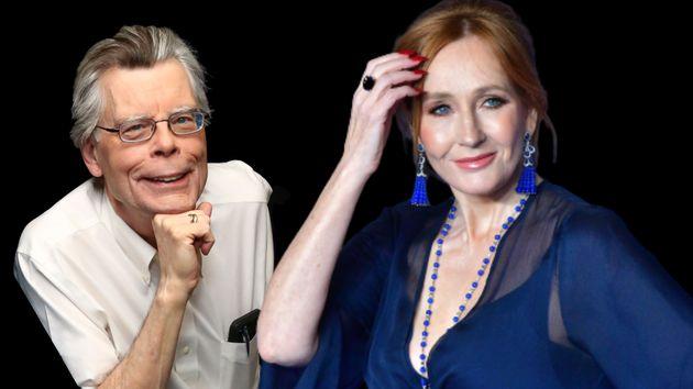 J.K Rowling piensa que Stephen King la apoya en su posición contra las mujeres trans y se ve obligada...