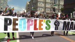La marcha del Orgullo se une a las protestas antirracistas en Nueva York y San