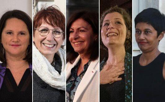 Johanna Rolland, Anne Vignot, Anne Hidalgo, Jeanne Barseghian et Ericka Bareigts ont été...