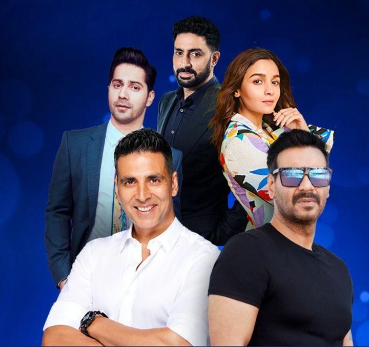 Akshay Kumar, Ajay Devgn, Alia Bhatt, Abhishek Bachchan and Varun Dhawan