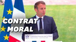 Macron retient toutes les propositions de la Convention Climat (sauf trois) et promet 15