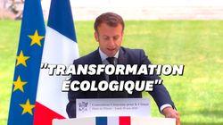 Les annonces de Macron sur l'écologie en réponse à la Convention pour le