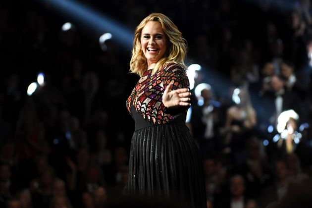 Adele performing at the 2017 Grammy Awards. She said earlier this year that she'd release an album in...