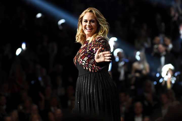 Adele performing at the 2017 Grammy Awards. She said earlier this year that she'd release an album in September, but it's bee