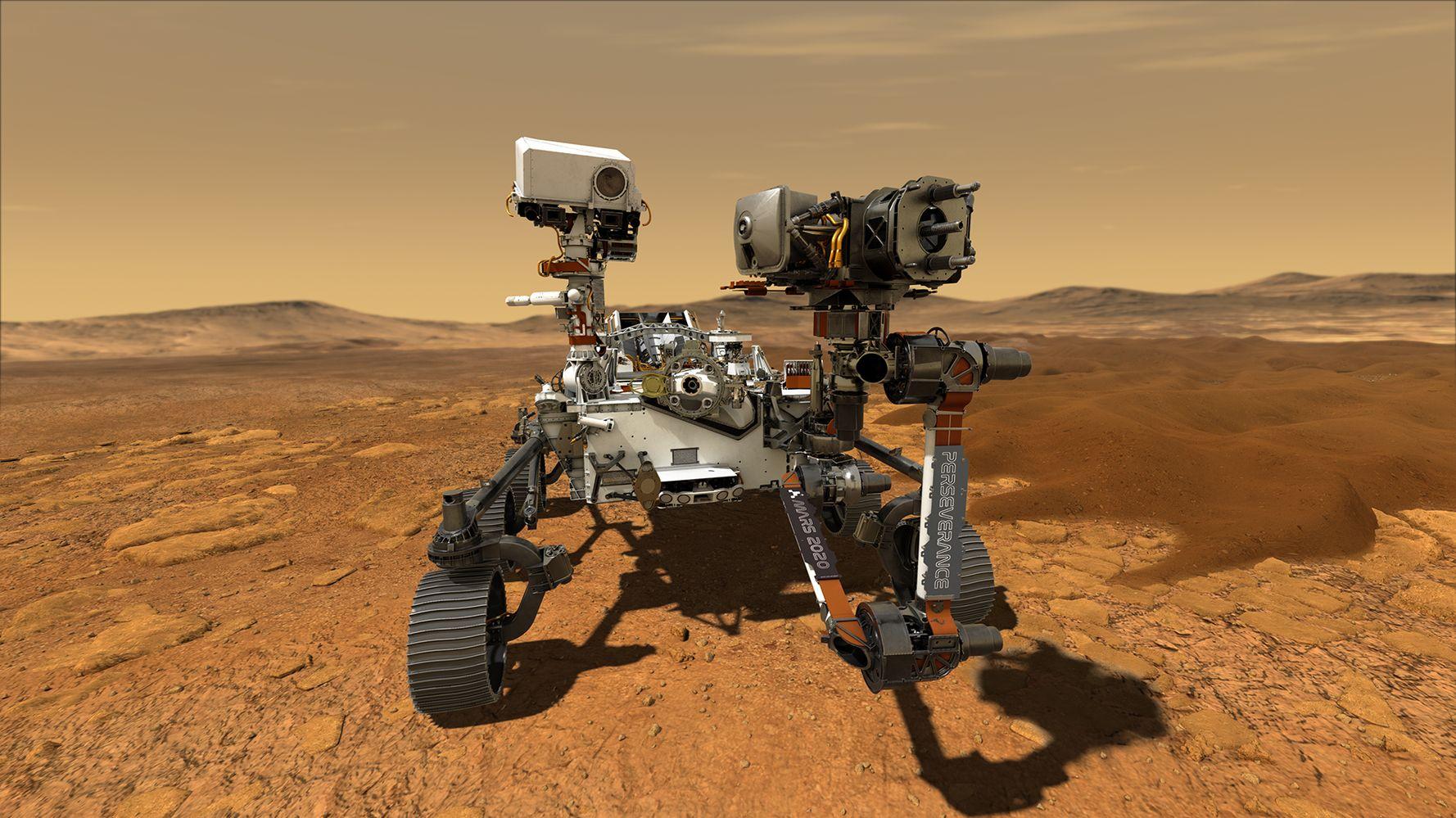 Rover Perseverance sur Mars: une mission spatiale en quête d'une vie passée