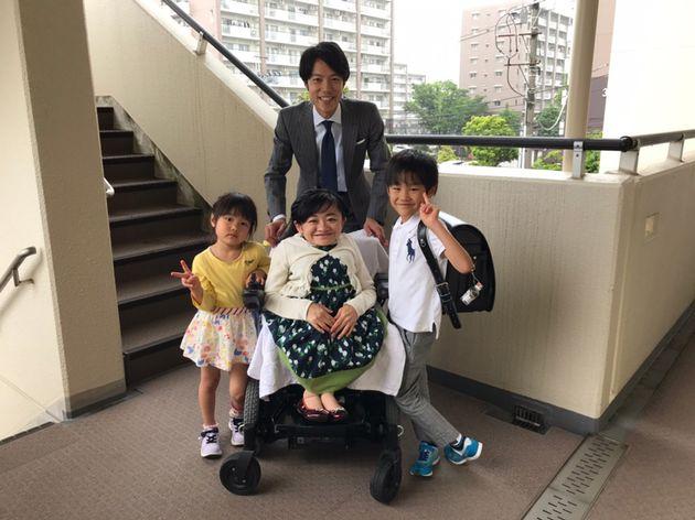 息子の入学式