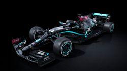 La couleur de la nouvelle Mercedes n'a rien