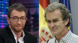 Pablo Motos se mofa de Fernando Simón y lo compara (para mal) con este líder