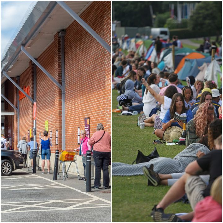 Queuing at Wimbledon isn't possible - but there are plenty of opportunities to queue elsewhere